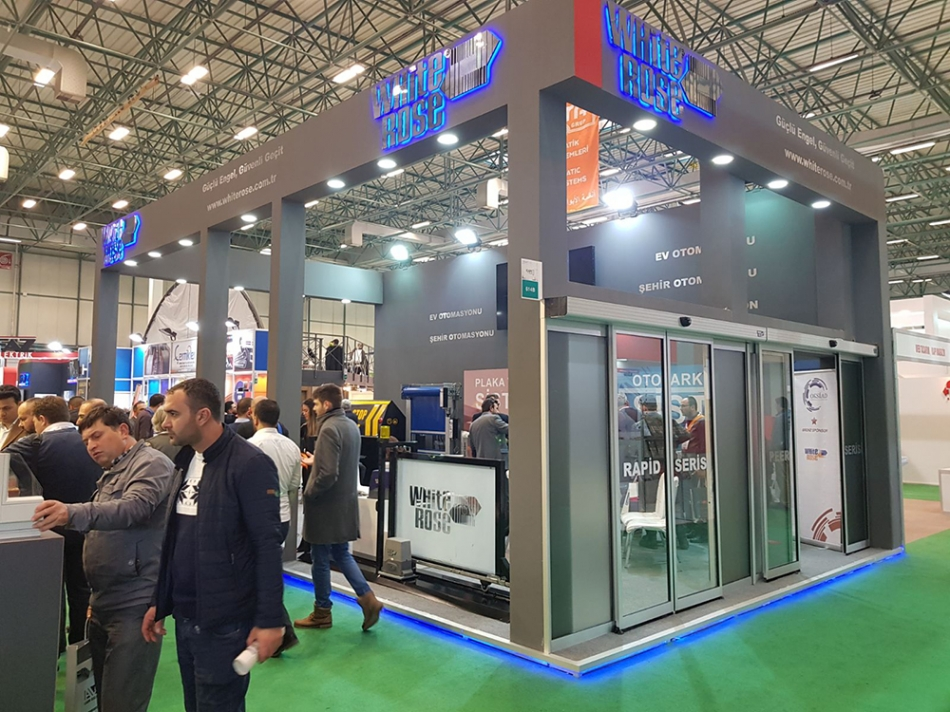 We were at the Eurasian Door Fair 2018 in Istanbul