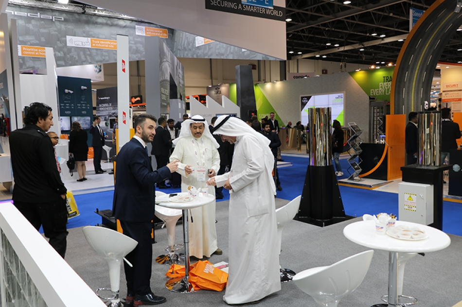 White Rose was in Dubai Intersec 2018 Fair!