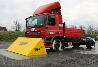 Stark Road Blocker PAS68 Crash Test