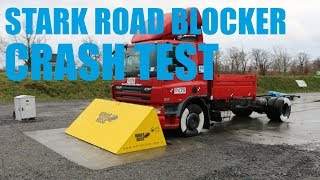 Stark Road Blocker Crash Test (PAS 68)