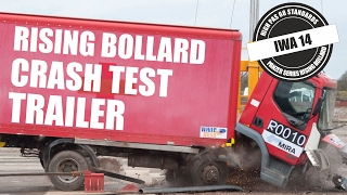 Panzer Series Rising Bollard Crash Test