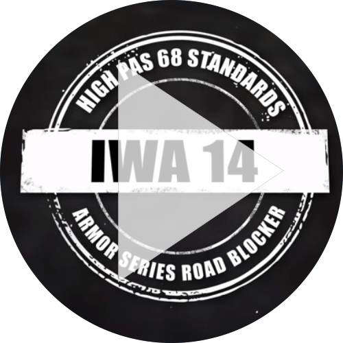 Road Blocker IWA 14 Crash Test Intro